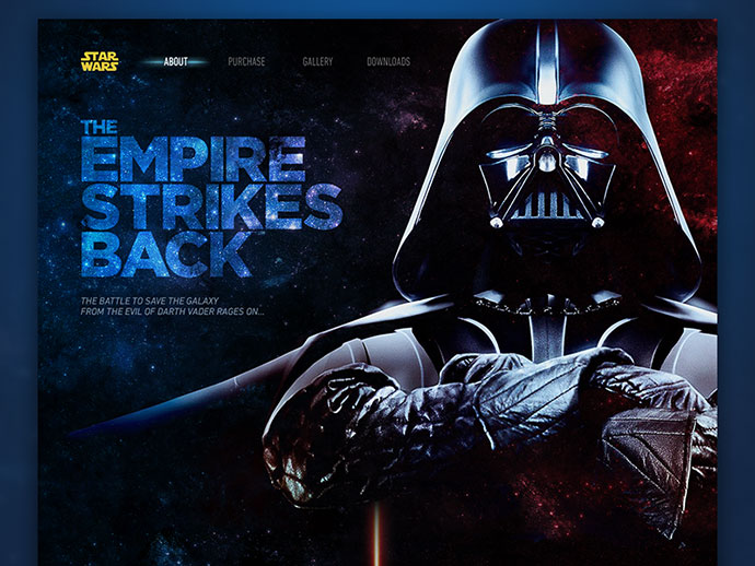 The Empire Strikes Back by Eric Celedonia