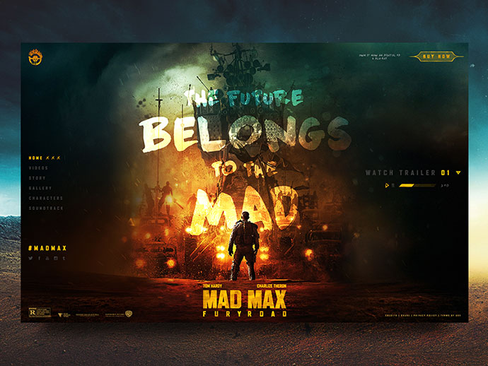 Mad Max Fury Road by Craig Gittins