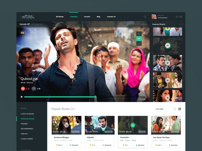 TV Shows by Zubair Ali