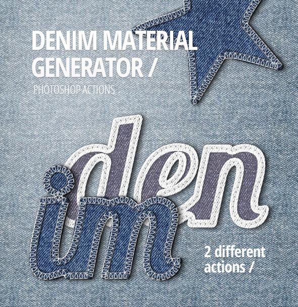 Denim Material Generator