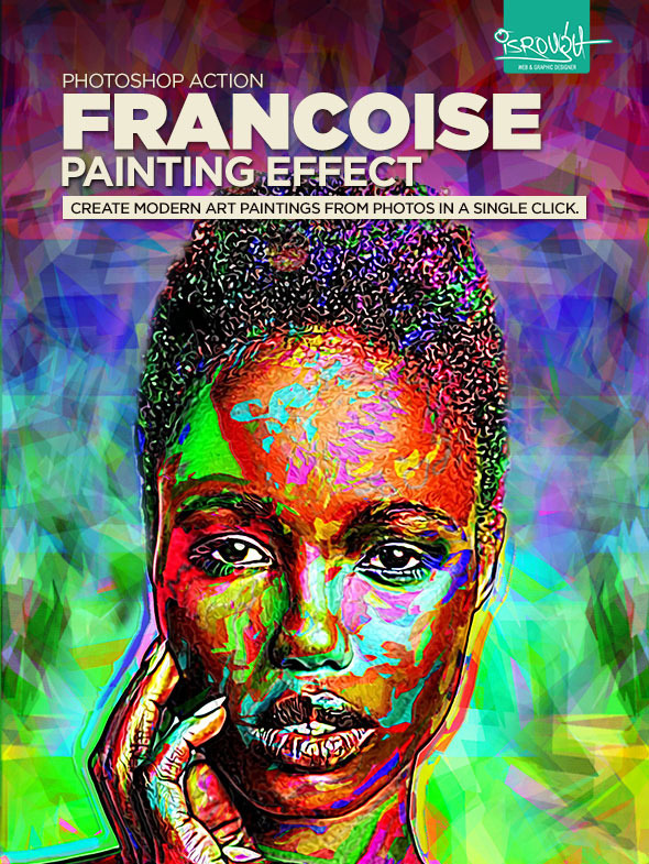 Francoise Painting Effect