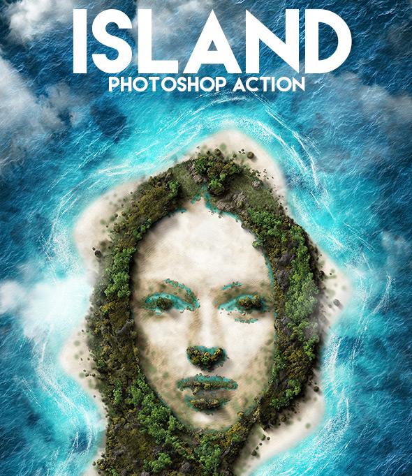 Island Photoshop Action