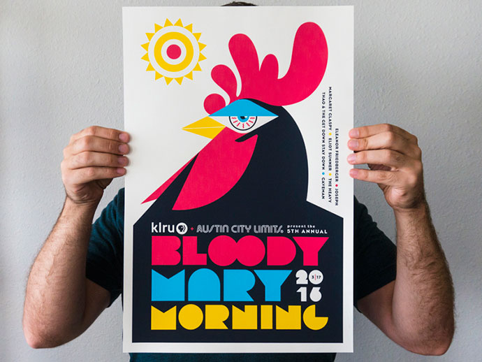 2016 Bloody Mary Morning Poster by Steve Wolf