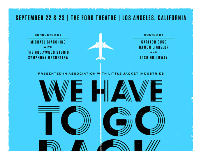 We Have To Go Back Poster