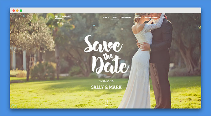 Wedding | Responsive Wedding Template