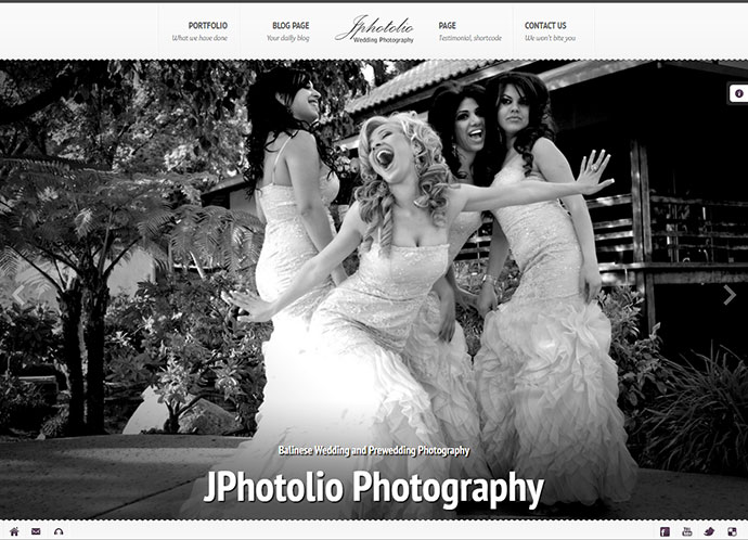 Best HTML Templates For Creating Wedding Website Web Graphic - Wedding photography website templates