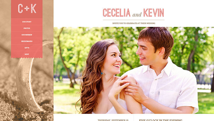 20 Best HTML Templates For Creating Wedding Website   Web ...