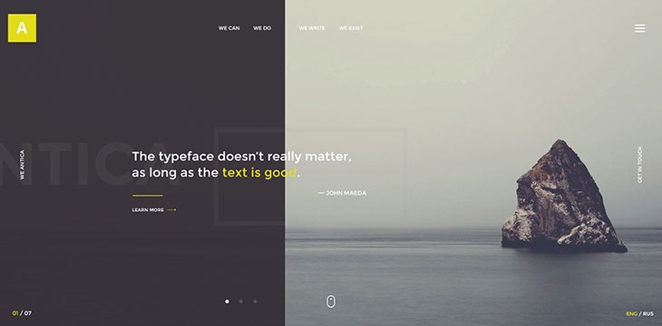 60 Best PSD Web Design Templates 2016