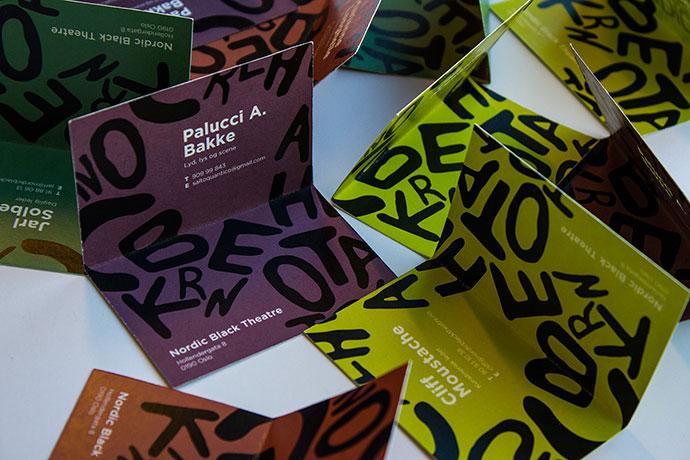 Nordic Black Theatre – Rebrand