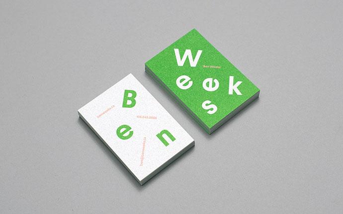 Ben Weeks Identity