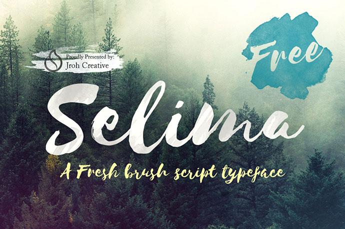 Selima - Free Font