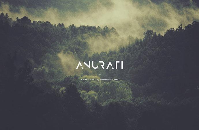 ANURATI - Free font