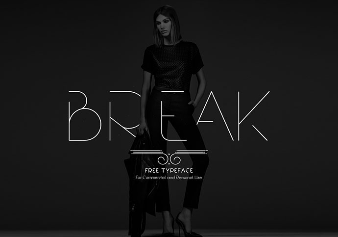 Break | Free Typeface