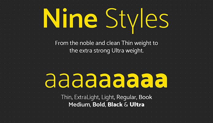 Mosk Typeface (Free)