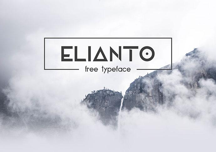 Elianto - Free Font