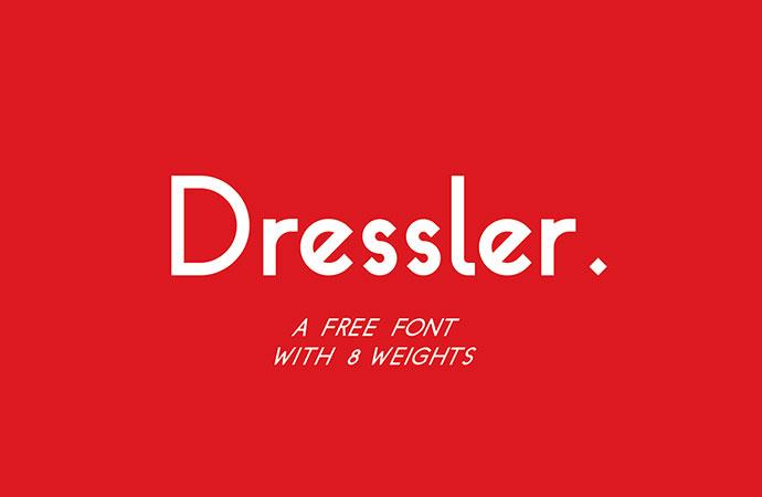 Dressler - Free Font