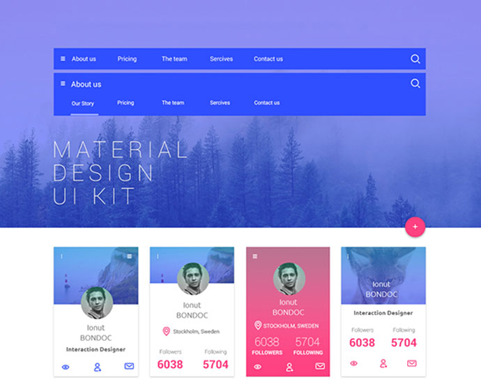 Download Free Material Design Ui Kit