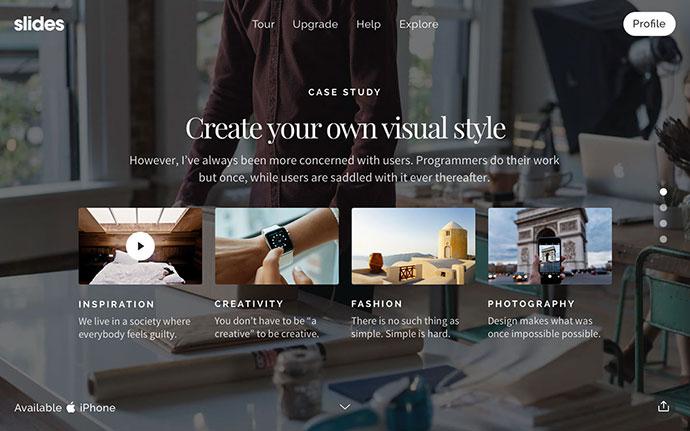 Slides Design Resources: Huge Free UI Kit