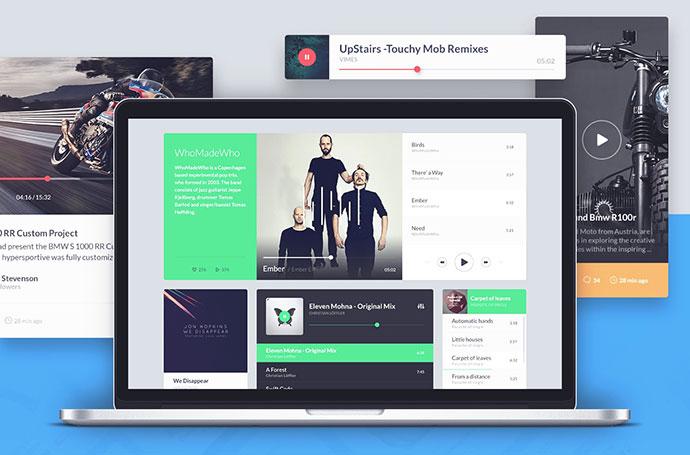 Kauf UI web kit