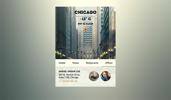 City Widget