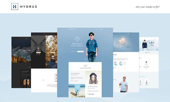 60 Best PSD Web Design Templates 2016 – Bashooka