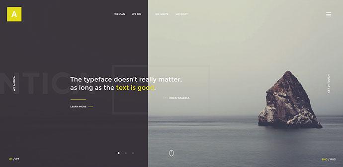 Antica — Multipurpose Business Agency/Personal Portfolio PSD Template