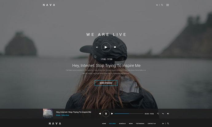 Nava - Ultimate Multimedia PSD Template