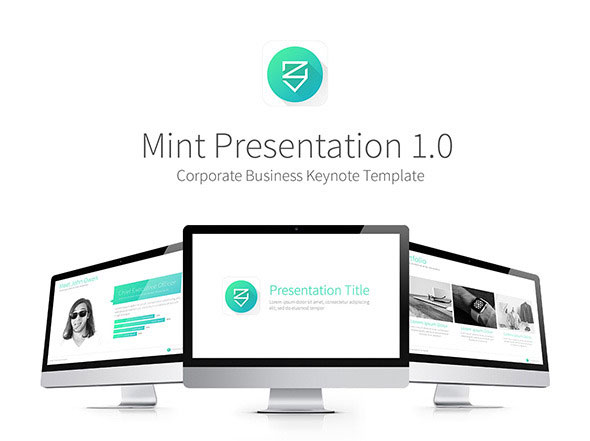 Mint Presentation Keynote Template