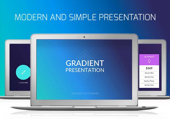 Gradient Presentation Keynote