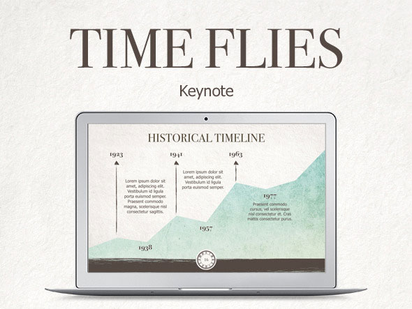 Time Flies Keynote Template