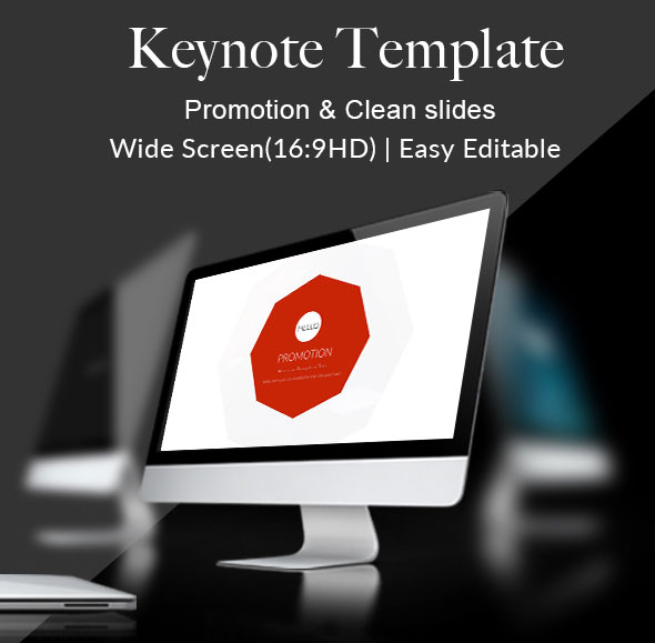 Promotion - Keynote Template