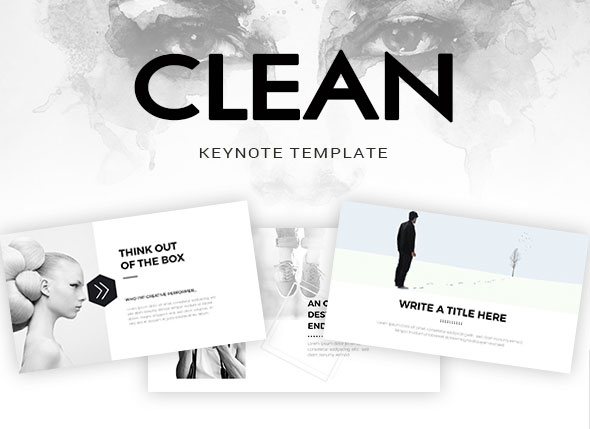 Clean Keynote Template