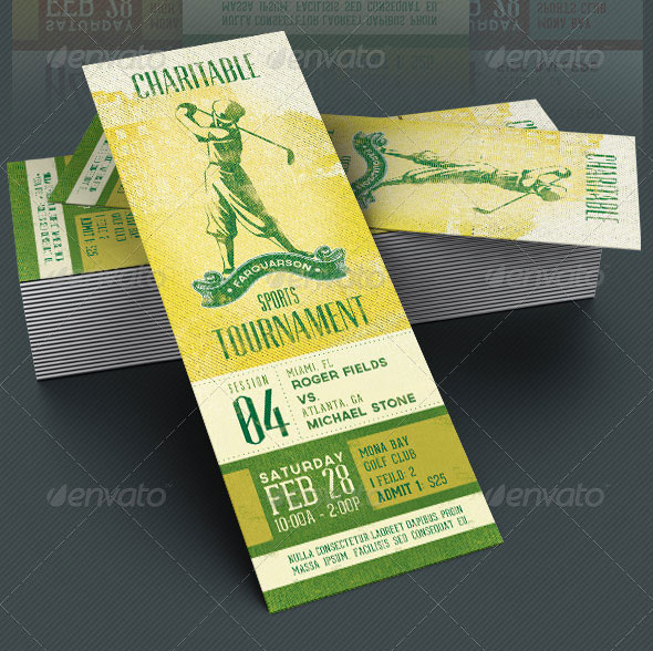 25 awesome psd ticket invitation design templates web graphic