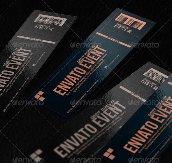 Elegant Ticket Template
