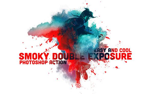 Smoky Double Exposure