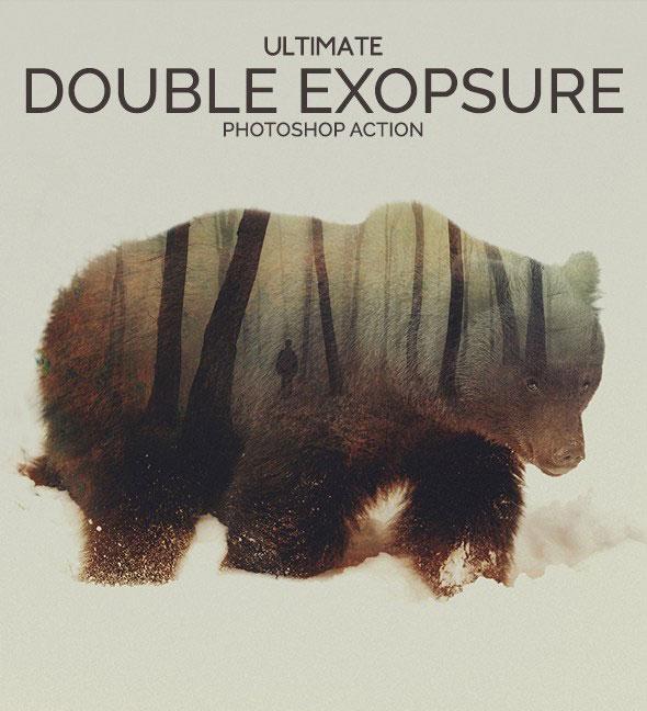 Ultimate Double Exposure Photoshop Action