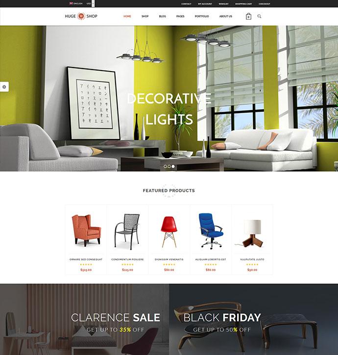 HugeShop - Wonderful Multi Concept WordPress Theme