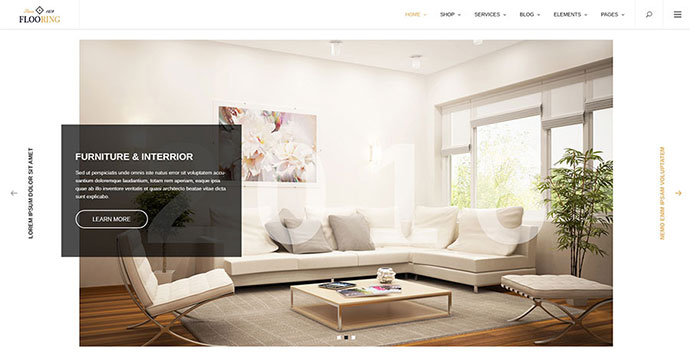 Flooring - Responsive & Multipurpose WordPress Theme