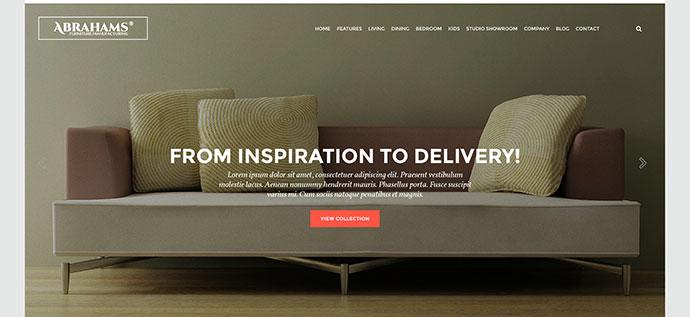 Furniture Store & Interior Design Theme