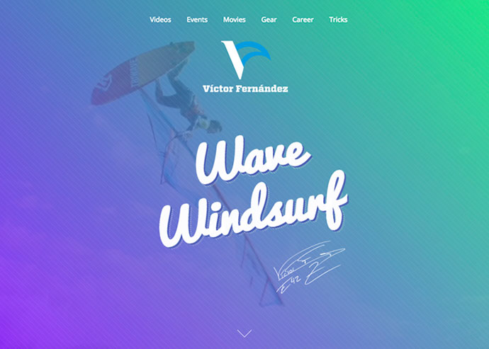 Victor Fernandez Windsurf