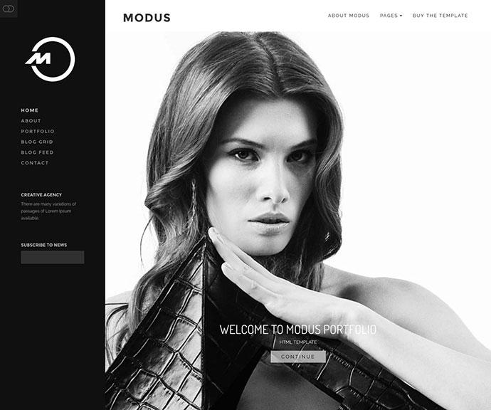 Modus - Agency Portfolio HTML