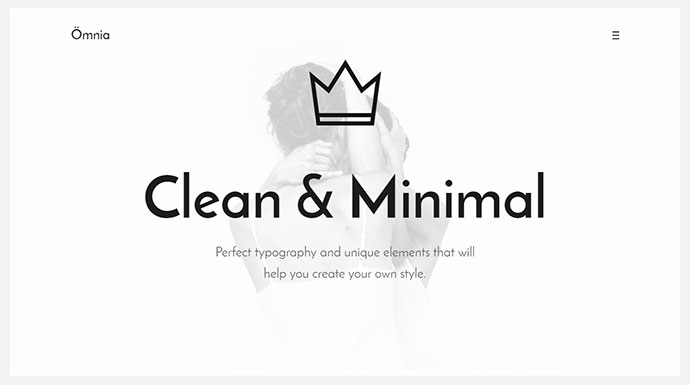 Omnia - Clean and Minimal Portfolio HTML5 Template