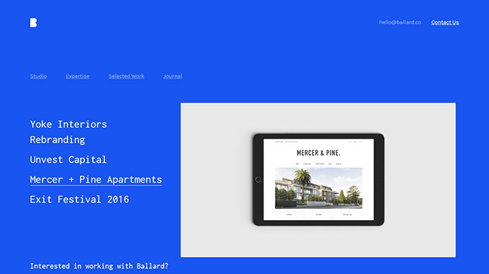 Ballard - Personal CV, Agency, Law & Restaurant HTML template