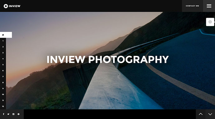 Inview - Ultra Responsive Fullscreen Photography Template