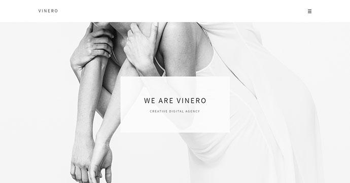 Vinero - Very Clean and Minimal Portfolio Template