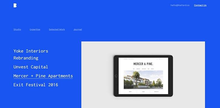 25 Creative Monochrome Portfolio Web Designs