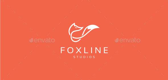 Fox Line - Logo Template