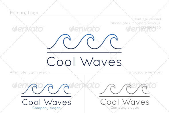 Cool Waves Logo