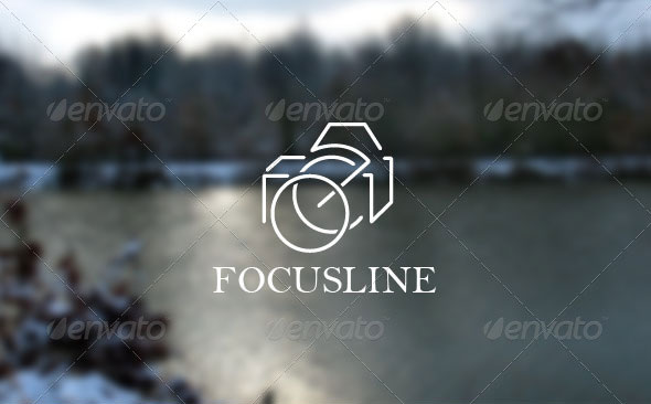 Focusline Logo Template