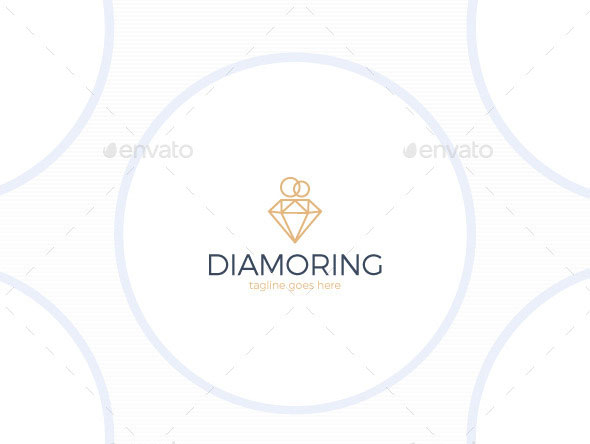 Diamond Ring Logo - Wedding Jewelry